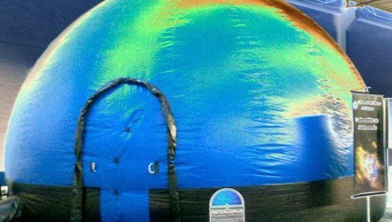 Apoio à construção do planetário Fixo UFPEL