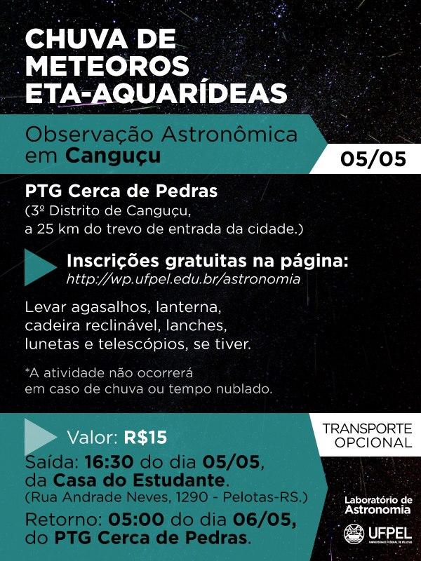 Chuva de Meteoros Eta-Aquarídeas