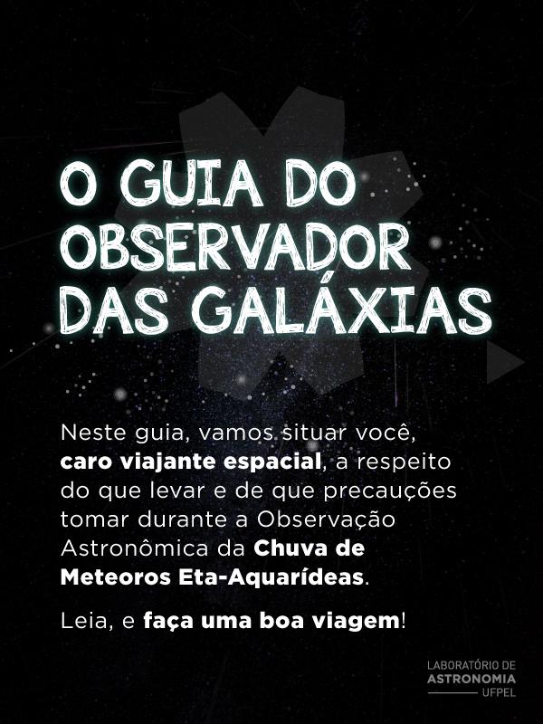 O guia do observador das galáxias