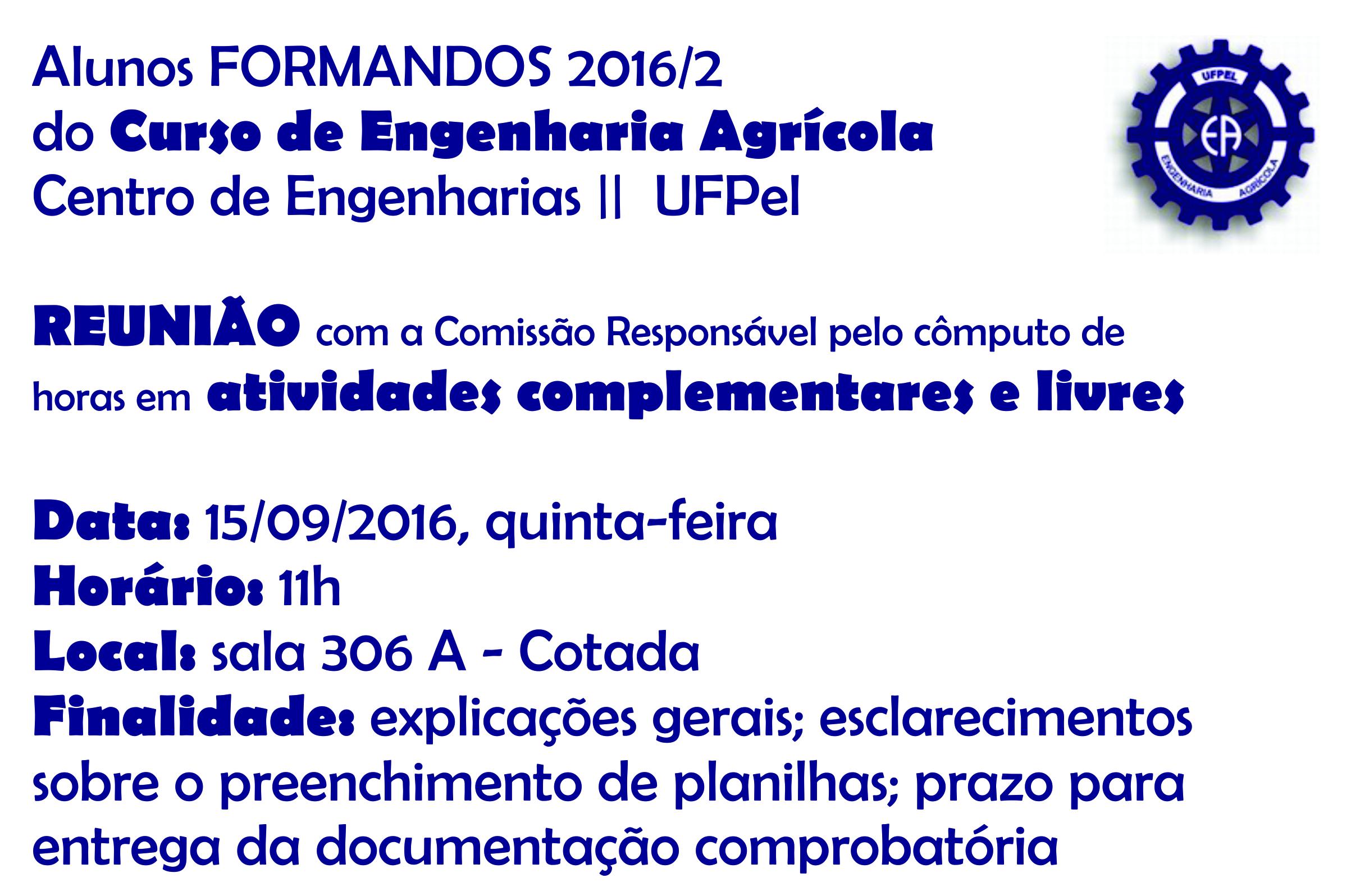 reunião - formandos2016.2