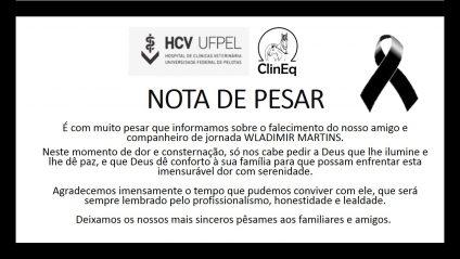 NOTA DE PESAR wladinis clineq
