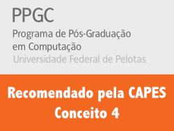 PPGC eecomendado pela CAPES com conceito 4