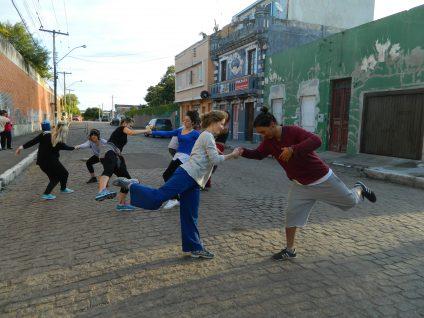 Projeto Caminhos da Dança na rua