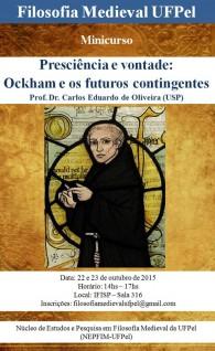 Cartaz Minicurso Ockham