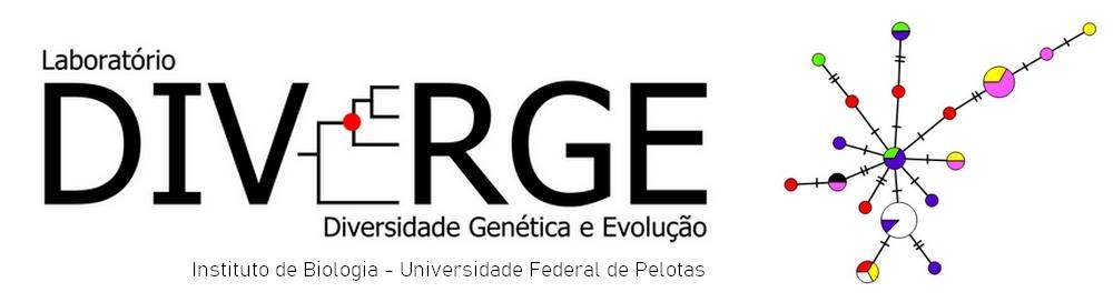 Logo Laboratório de Diversidade Genética e Evolução