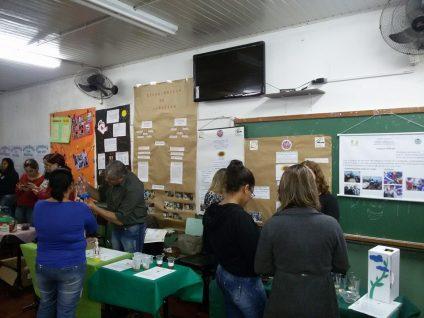 Feira de Ciência e Tecnologias em Santana do Livramento (Foto: Alexandra Carambula)