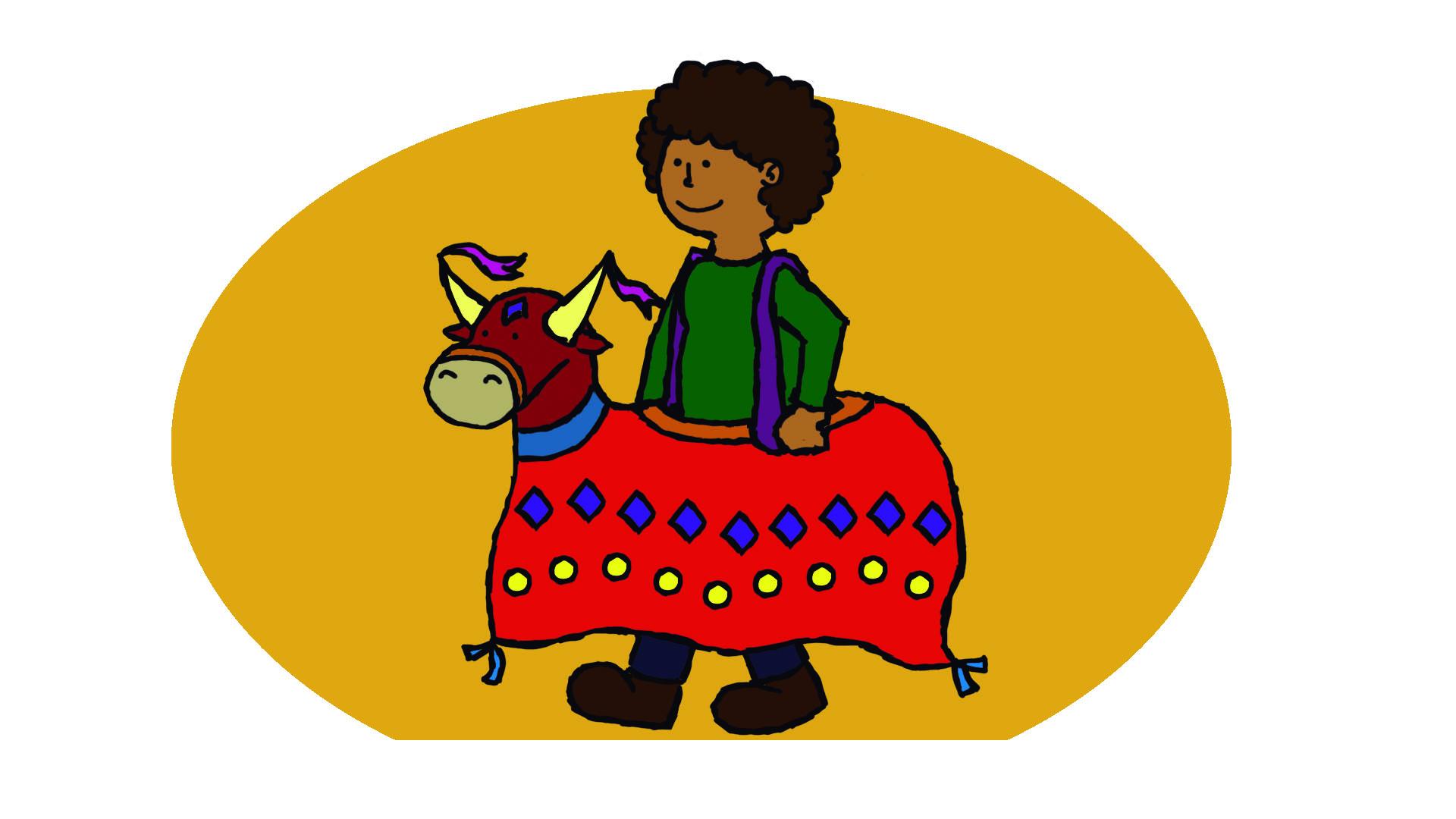 Personagem folclórico criado pelo PET/Gape (Créditos: Isabela Silva)