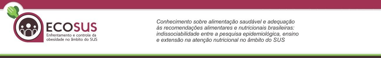 Projeto ECOSUS/UFPel – ENFRENTAMENTO E CONTROLE DA OBESIDADE NO ÂMBITO DO SUS