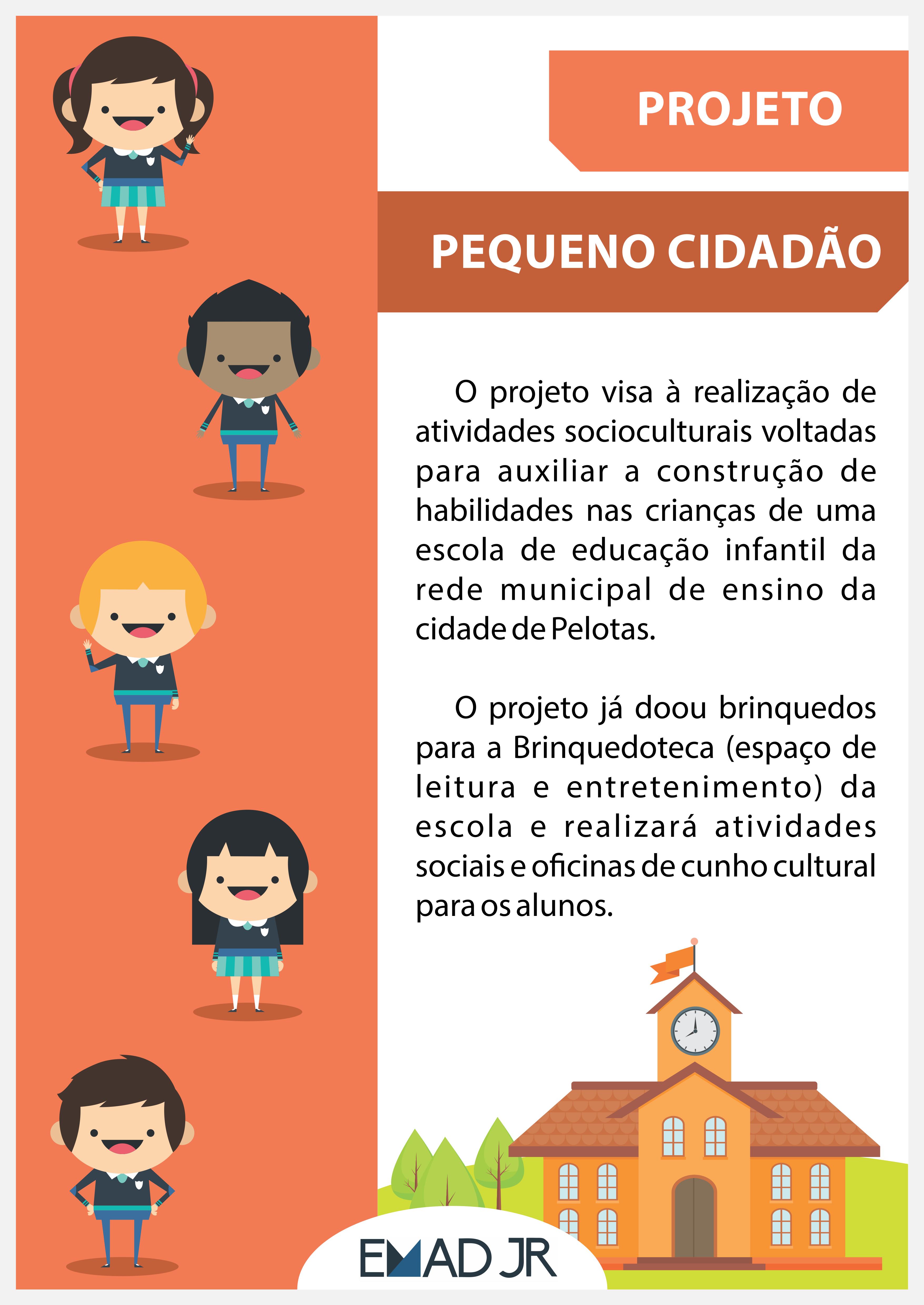 Cartaz Pequeno Cidadão