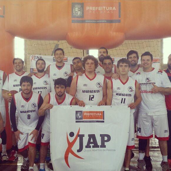 """Maragatos """"A"""" é uma das equipes classificadas na fase final do JAP. (imagem: reprodução Prefeitura de Pelotas)"""