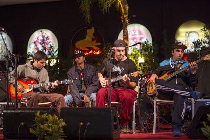 Banda Jow Ramon leva rock para a Fenadoce. (Foto: Divulgação)