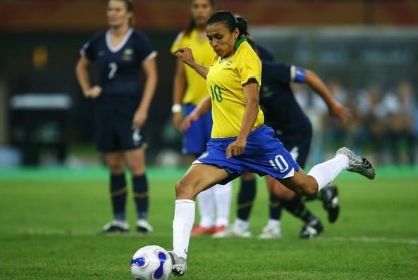 Marta pediu o apoio do povo brasileiro não somente na Olimpíada. Foto: Getty Images