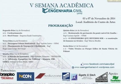 Programação V SAEC UFPel (2)