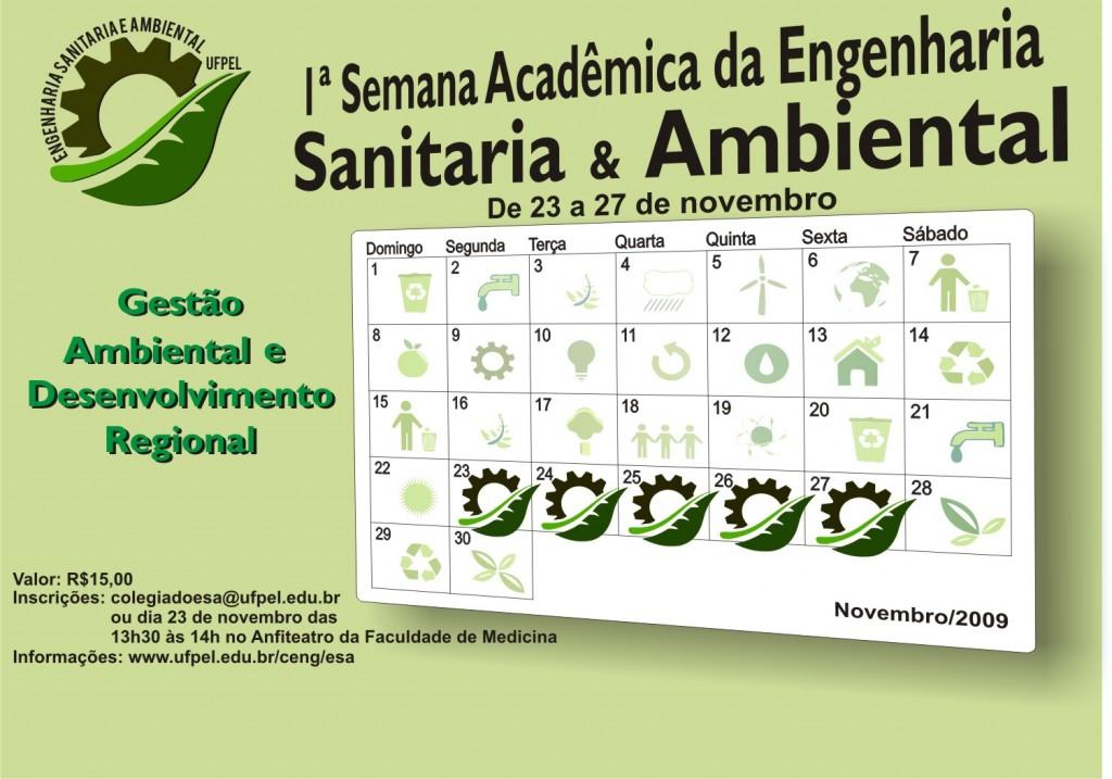 Cartaz Semana Acadêmica