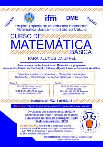 Curso de Matematica Basica 2014-1