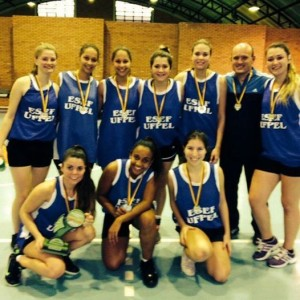 Basquetebol Feminino - JUGs 2014 - 2o lugar