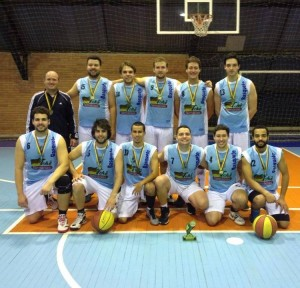 Equipe Masculina Basquete