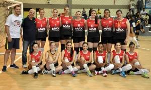 Equipe Feminina Voleibol