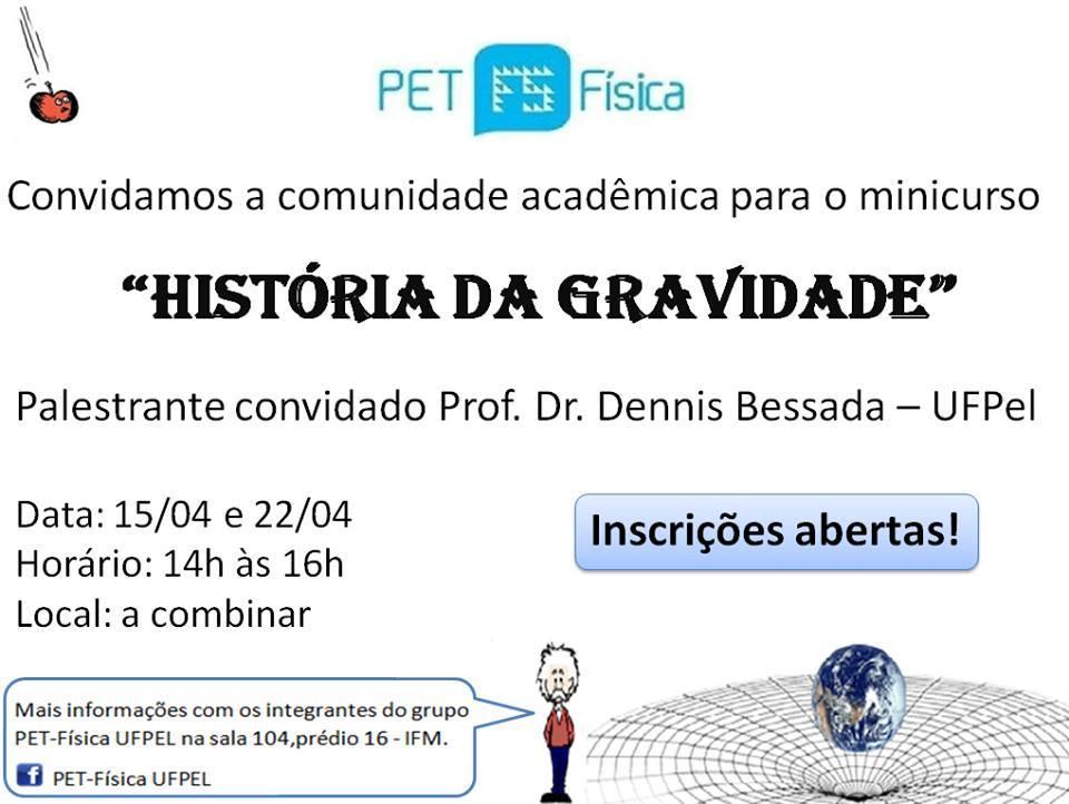 HISTÓRIA DA GRAVIDADE