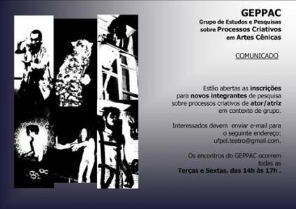 Chamada GEPPAC-2015