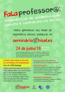cartaz Falaprofessora Seminario10anosHISALES prazoprorrogado email