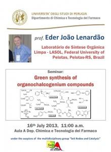 Seminar Eder Lenardão, Perugia/Italy