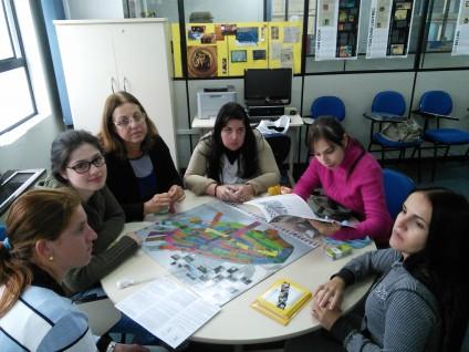 Aula de Ação Cultural e Educativa em Museus do curso de Museologia da UFPel