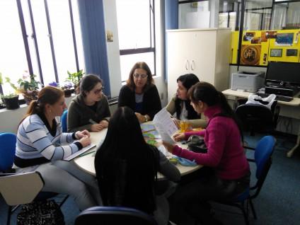 Aula prática de Ação Cultural e educativa em Museus
