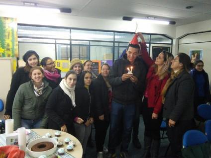 Encerramento da disciplina Ação Cultural e Educativa em Museus e aniversário do João Pedro