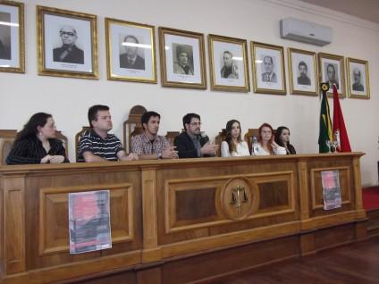 Participação do DEFENSA no Encontro Interdisciplinar sobre a Construção do Pensamento Jurídico-Penal Brasileiro, em novembro de 2012.