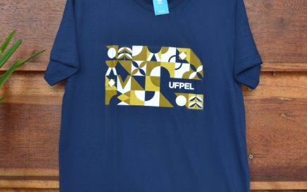 Camiseta Azul Ladrilhos