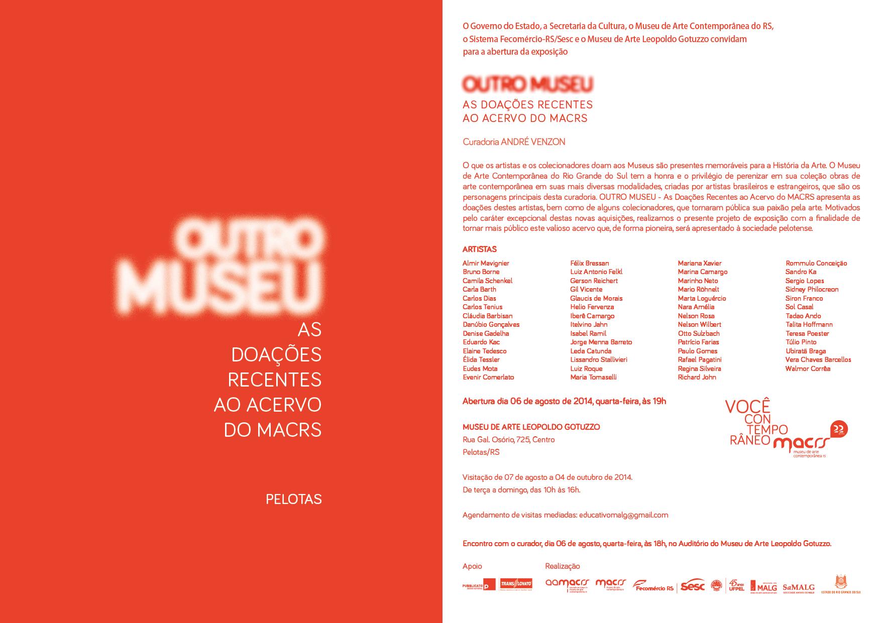 9f61cb85a9a convite MACRS – MALG – Museu de Arte Leopoldo Gotuzzo