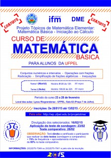 Curso de matemática básica 2015_1