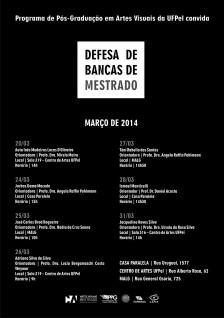 PPGAV_UFPel_defesas_março_ 2014