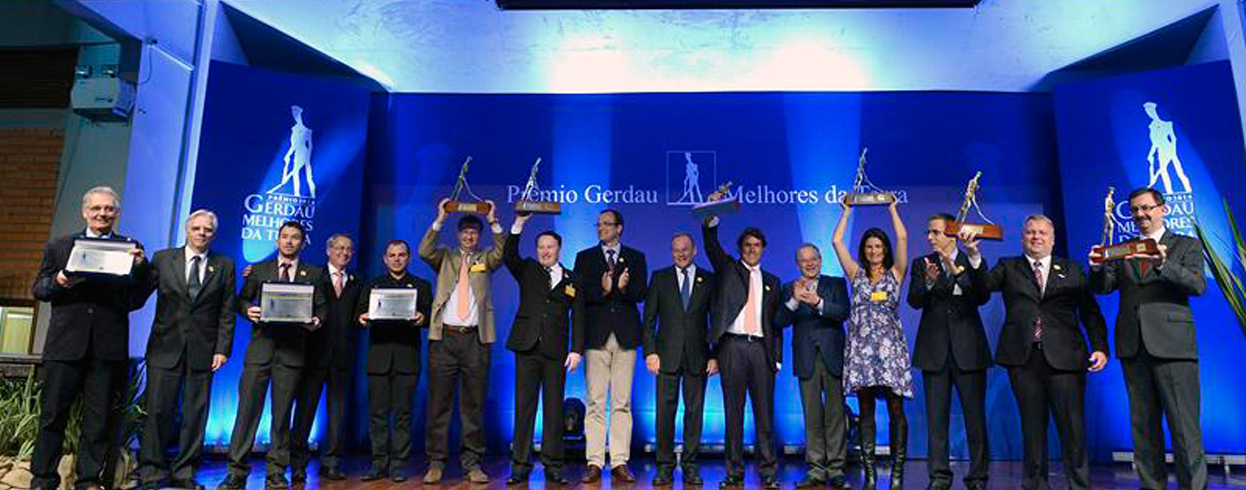 NIMEq ganha Prêmio Gerdau