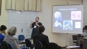 Carlus Augustu Tavares do Couto, mestrando e membro da comissão organizadora.