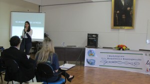 Palestra da Profª Drª Rachel Krolow Santos Silva Bast, da UCPel.
