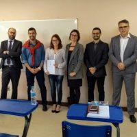 Defesa de dissertação de Aline Santestesvan Oliveira Iribarrem (22/04/2019)