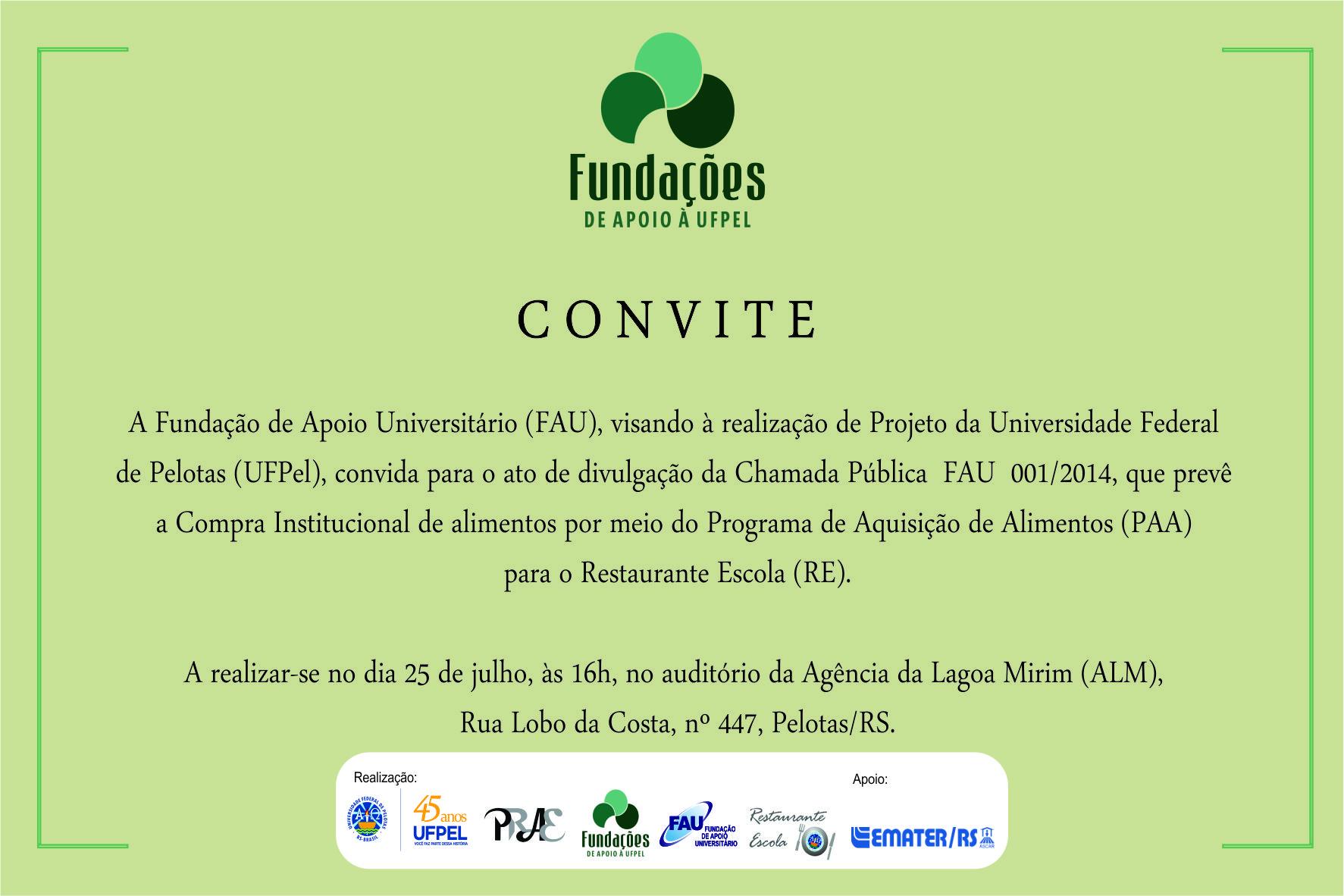 Chamada Publica Convite_PAA_FAU