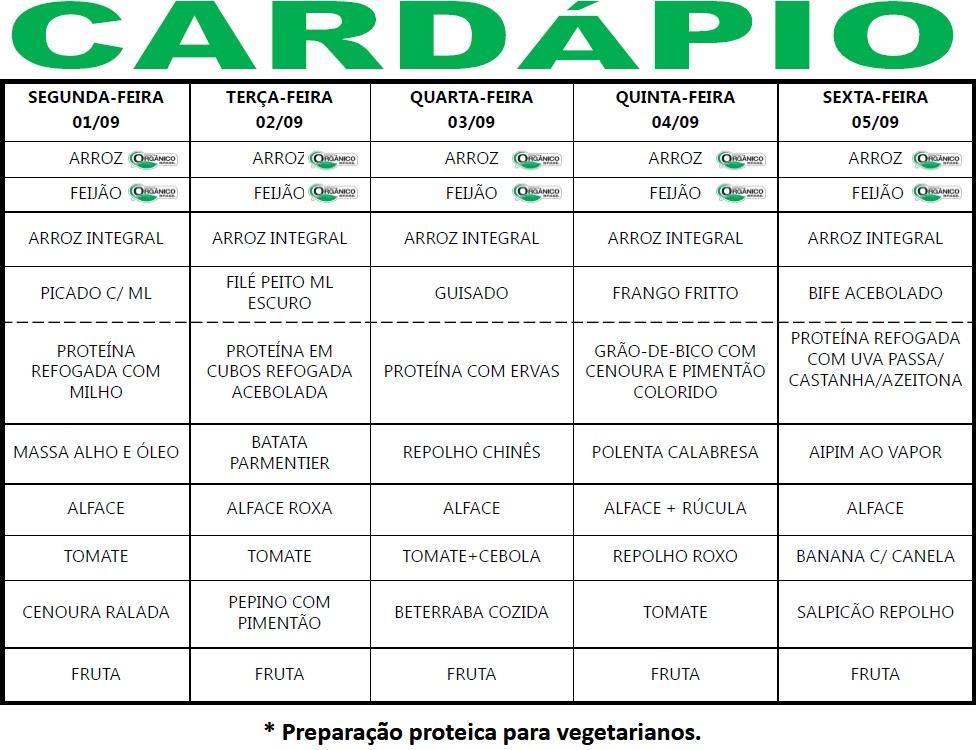Cardápio 01-05