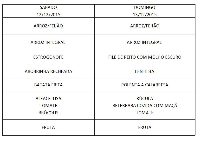 Cardápio 12 a 13-12-15