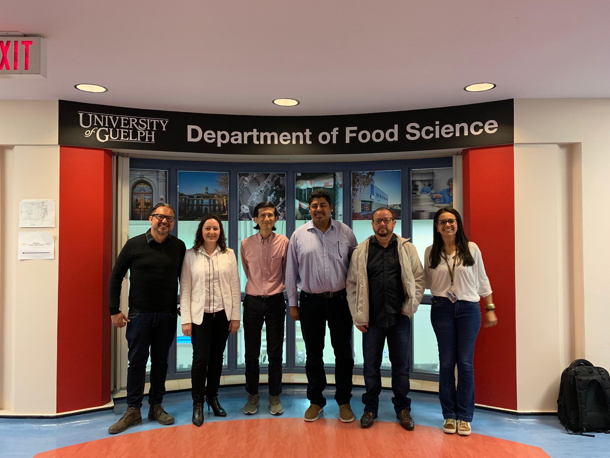 """Equipe do Projeto de Cooperação Internacional """"Nanomed"""" realiza missão no Canadá"""