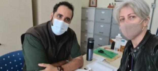 Professor Visitante no Brasil: Ignacio López Moreno realiza pesquisa na UFPel (PPGMP)