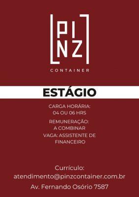 Estágio Pinz Container