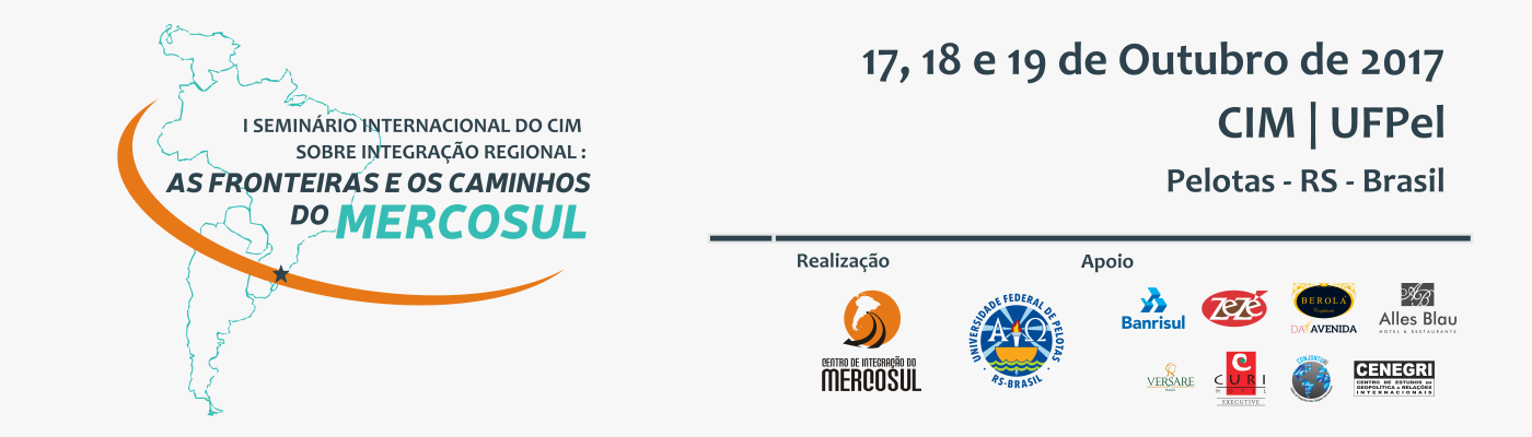 I Seminário Internacional CIM sobre Integração Regional
